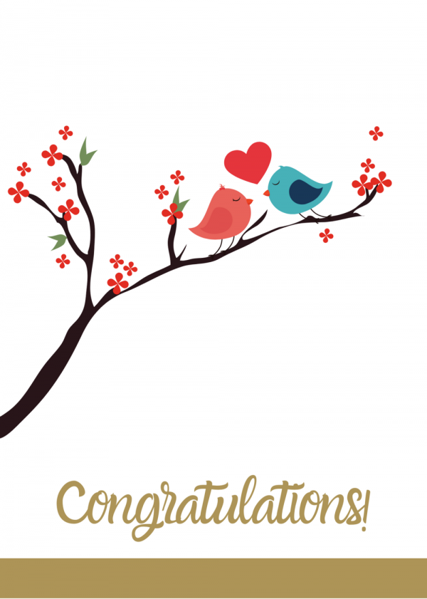 Congratulations Tree Card