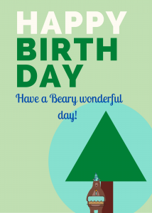 Beary wonderful birthday
