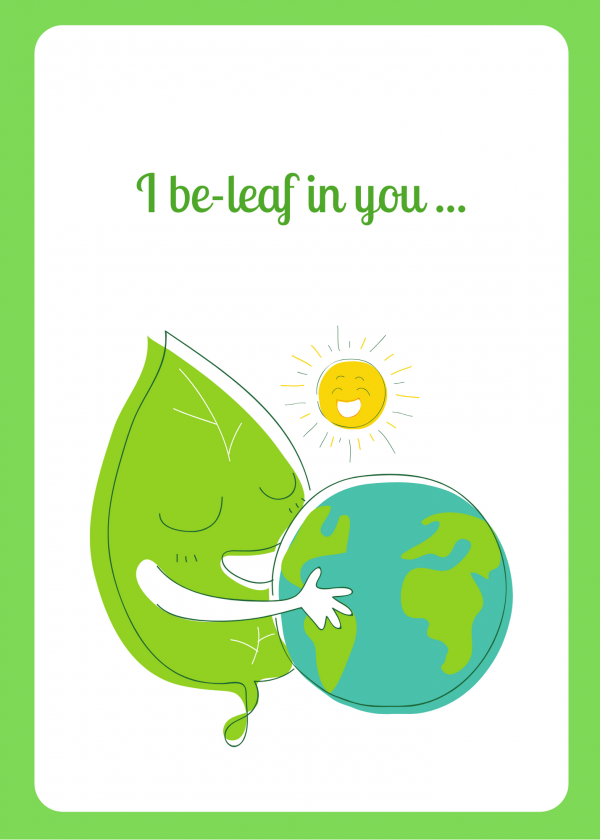 I beleaf in you