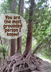 you are grounded tree card