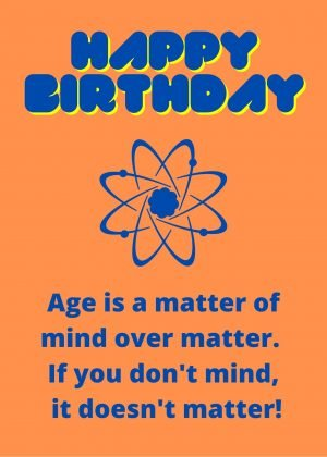 Mind over Matter Birthday