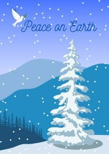 Peace on Earth for the Holidays ecard