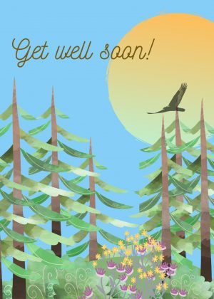 get well forest